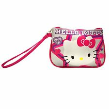 New Wristlet Hello Kitty Wallet Clutch with Wristlet for Kids
