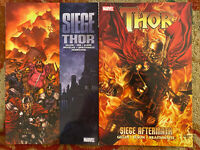Thor Siege & Siege Aftermath TPB Trade Paperback Issues 607-614 Lot Set Gillen