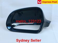 LEFT PASSENGER SIDE AUDI A5 S5 2008 - 2011 MIRROR COVER CAP HOUSE (BLACK)