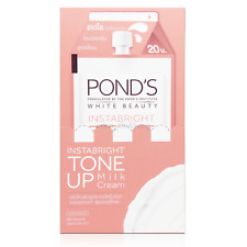 6 x 7g. Pond's White Beauty Instabright Tone Up Milk Essence Lightening Cream