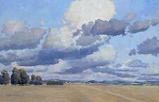 Country cloudscape - Original Australian Landscape Oil Painting.