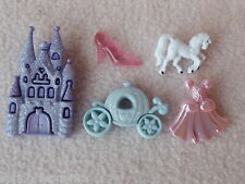 DRESS IT UP BUTTONS ~ HAPPILY EVER AFTER ~CASTLE ~ COACH ~ DRESS ~ GLASS SLIPPER