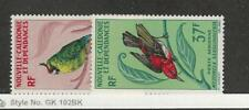 New Caledonia, Postage Stamp, #C48-C49 Mint Hinged, 1966 Bird