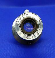 Vintage Lens FED 1:3.5 F=50mm from Fed Zorki Leica rangefinder M39 284736