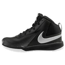 NEW Nike 747998-001 Team Hustle D7 (GS) Black Silver basketball Youth Size 4Y