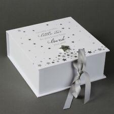 NEW Baby Boy / Girl Keepsake Memory Box Twinkle Twinkle Newborn Christening Gift