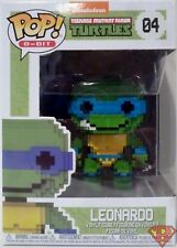 "LEONARDO Teenage Mutant Ninja Turtles Pop 8-BIT 4"" Vinyl Figure #4 Funko 2018"