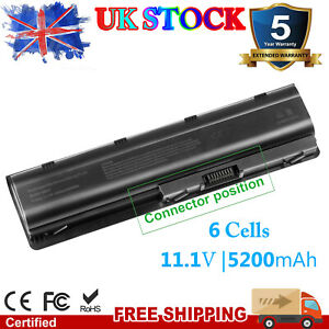 Laptop Battery for HP Pavilion DV6 G42 G56 G62 G72 G6 MU06 MU09 593553-001