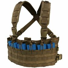 Condor Coyote Brown MCR6 MOLLE 5.56 .223 Magazine Pouch Rapid Assault Chest Rig