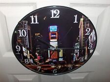 New York City`12 Inch,New Years Eve-Time Square,Wall Clock,New In Box->Free 2 US