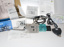 Canon PowerShot Digital ELPH S100 Digital Camera - Silver Color