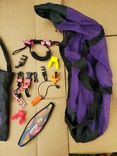 Lot Of Scuba Gear Purple Duffel Bag Diving Dive Accessories