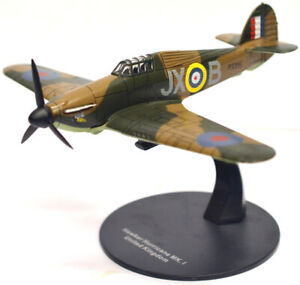 Hawker Hurricane Mk1 No1 Sq Battle of Britain 1940 1:72 Scale Diecast Model LG24