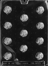 ROSE BON-BON 1 1/8 DIA 3/4 DEEP candy chocolate molds pieces all occasion x