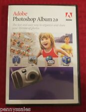 Adobe Photoshop Album 2.0 PC CD-ROM 2003 Full Retail Version for Windows XP