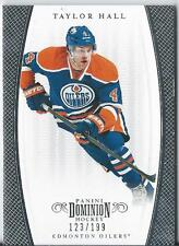 2011-12 Dominion Hockey Panini TAYLOR HALL #34 123/199 Edmonton Oilers