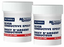 Mg Chemicals 8331s 50ml Two Part Silver Epoxy Highly Conductive Adhesive