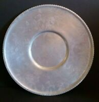 "Vintage 1950's Hand Forged Royalty Aluminum Ware 19"" Serving Platter Plate"