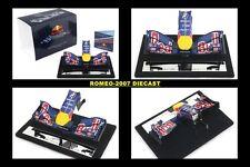 1:12 Amalgam RED BULL RB6 2010 Nose Cone Sebastian Vettel - Mark Webber RARE NEW