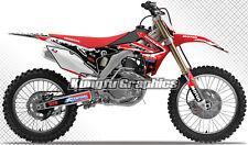 2014 2015 2016 Honda CRF 250R 450R Motocross MX Custom Decal Kungfu Graphics Kit