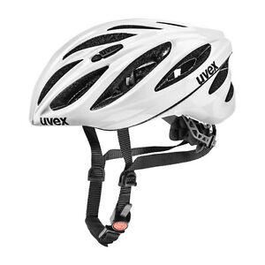 UVEX Fahrrad Sport Race Fahrradhelm Boss white 56-60 cm