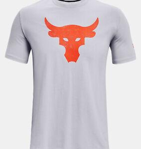 2021 Under Armour Men's UA Project Rock Brahma Bull T-Shirt Dwayne Rock Johnson