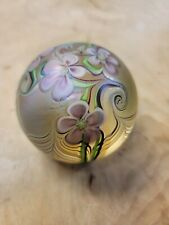 1979 Orient And Flume Signed Art Paperweight