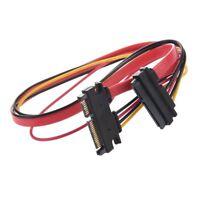 Cable de Alimentacion de Datos SATA 15+7 Pin Macho a Hembra K4B2