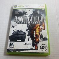 Battlefield: Bad Company 2 Microsoft Xbox 360 Video Game Free Ship