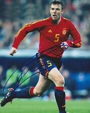 CARLOS MARCHENA 2010 SPAIN WORLD CUP 2014 SIGNED AUTOGRAPH 8X10 PHOTO COA