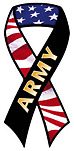 """ARMY"" car ribbon magnet QUAILITY"