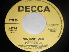 Sorrells Pickard: Who Really Cares / Marianna 45