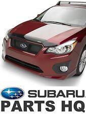 2012-16 Subaru Impreza & Crosstrek OEM Hood Protector Bug Deflector E231SFJ000