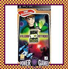 Ben 10 Alien Force Vilgax Attacks Essentials (Sony PSP) Brand New