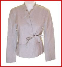 NEU mit Etikett Damen French Connection gestreift Blazer Jacke Mantel UK16 FCUK