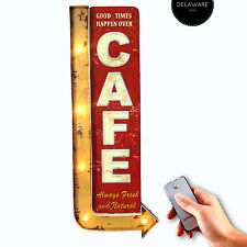 LEUCHTREKLAME CAFE I MARQUEE LIGHT I AMERICAN DINER I VINTAGE I RETRO #25