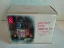 WHSmith glass lantern decoration kit gift set/present - BNIB