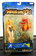 Dragons Lair 3D Princess Daphne and Drake Action  - Don Bluth - Original (Unopen
