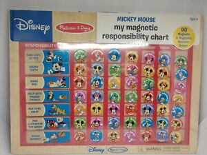 Melissa Doug - Disney Mickey Mouse Clubhouse Magnetic Responsibility Chore Chart