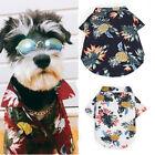 Summer Pet Dog Cat T Shirt Tops Costume Puppy Beach Short Blouse Clothes HOT