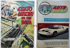 ALBI DELL'INTREPIDO 1012 Auto Sprint TARGA FLORIO FORD GT SPYDER Universo 1965