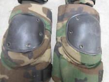 USGI Military Bijan's Tactical Protective Knee Pads Woodland Camo Medium VG