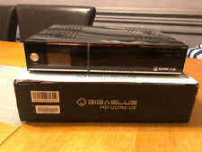 GiGaBlue HD Ultra UE with Twin DVB-C/T2 tuner and S2 Tuner and 180GB Hardrive