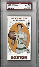 1969/70 Topps #20 JOHN HAVLICEK HOF RC PSA 8 (PD) NM-MT