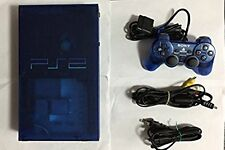 Playstation 2 Ocean Blue Console Japan PS2 *GOOD CONDITION - WORKING*