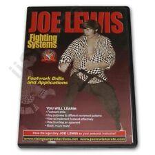 Joe Lewis Contact Karate Fighting Sparring Advanced Footwork Drills #2 Dvd Jl2