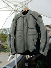 Original Triumph Motorradjacke beige/anthrazit Größe 44 / 54 ( L) Wie neu