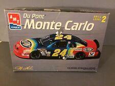 Amt Du Pont Monte Carlo 1995 Jeff Gordon #24 Nascar 1/25 Model Race Car Kit