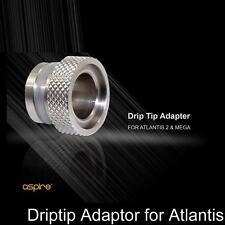 Authentic Aspire Wide Bore to 510 Drip Tip Adapters / Atlantis 2 & Mega US