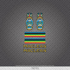01210 Maclean Bicycle Stickers - Decals - Transfers